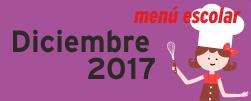 Menú Diciembre 2017